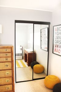 17 Best ideas about Mirrored Closet Doors on Pinterest