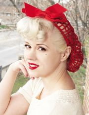 vintage retropinup hair snood