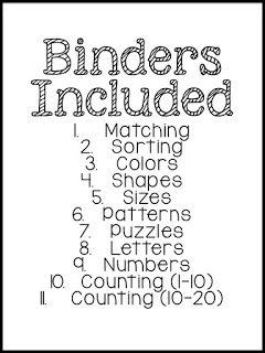 1000+ ideas about Preschool Binder on Pinterest