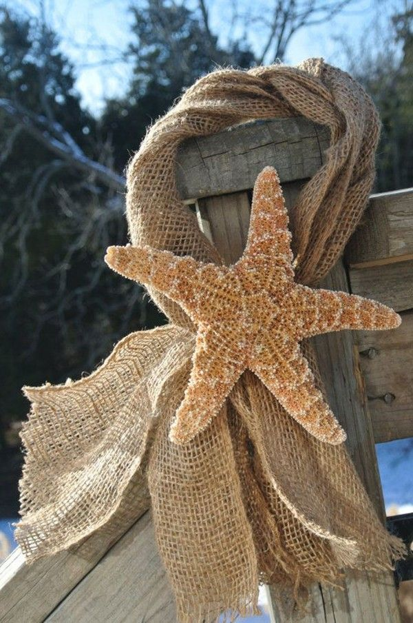 starfish wedding chair decorations folding sleeping 19 best images about beach decoration ideas on pinterest   starfish, ...
