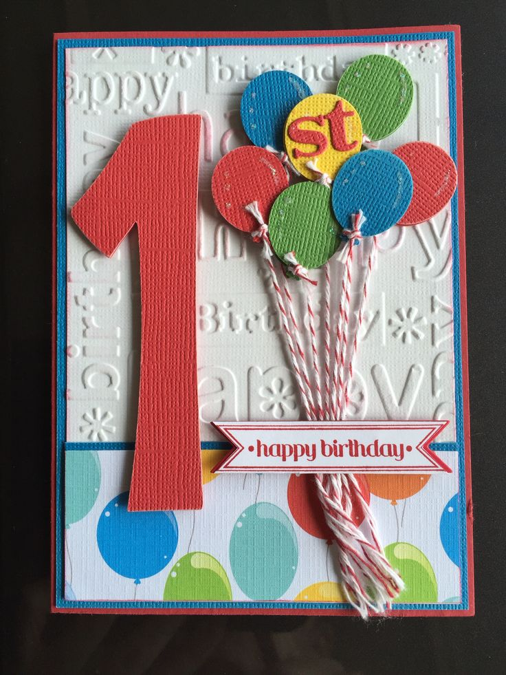 Best 25 1st Birthday Cards Ideas Only On Pinterest