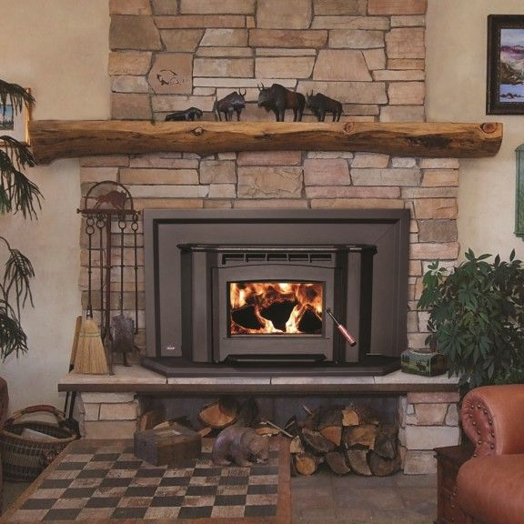 Where To Store Wood For Fireplace Wood Stove Insert With Wood Storage Beneath | House Ideas