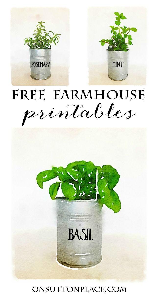 Watercolor Printables Diy Wall Art Diy Wall And Farmhouse Style