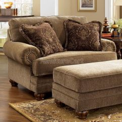 Large Overstuffed Sofas Sofa En Ingles Es Stafford - Antique Chair And A Half | Chairs, Recliners ...