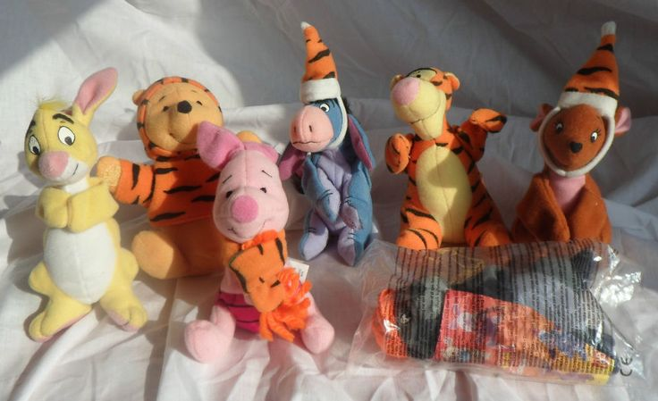 Winnie Pooh Mcdonalds Toys