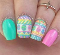 199 best images about easter & spring nails & nail art ...