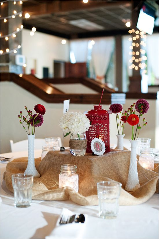 the cheap chair covers for folding chairs classroom essentials church 48 best images about birthstone weddings - january garnet on pinterest | centerpieces, ...