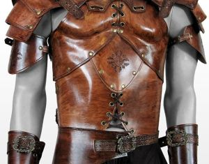 Leather Body Armour Leather Cuirass Leather Armour And