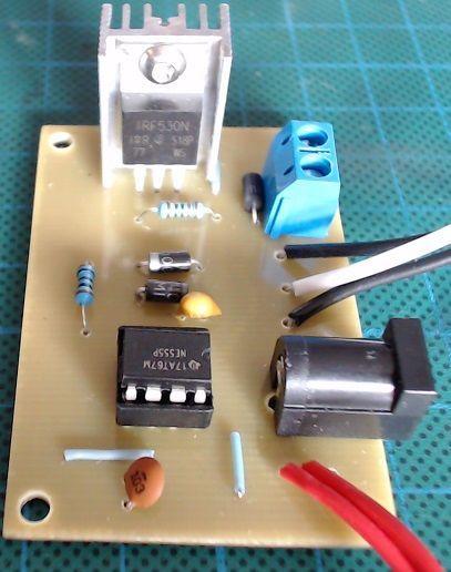 Power Amplifier Circuit Schematic 555 Timer Ic Audio Amplifier Circuit