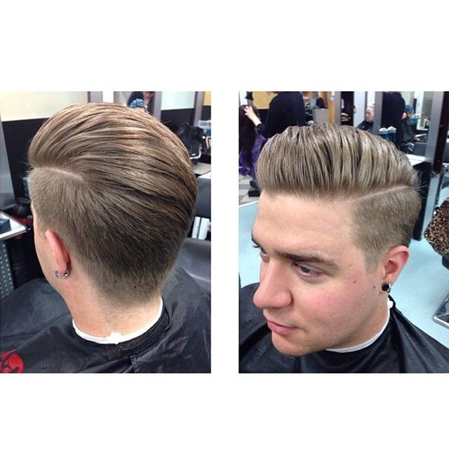 Amazing Pompadours Quiffs And Undercut Hairstyle