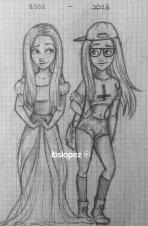 drawings easy drawing sketches itslopez unique cool dibujos teenage cartoon awesome pretty character pencil teen google famosos paintings ariana grande