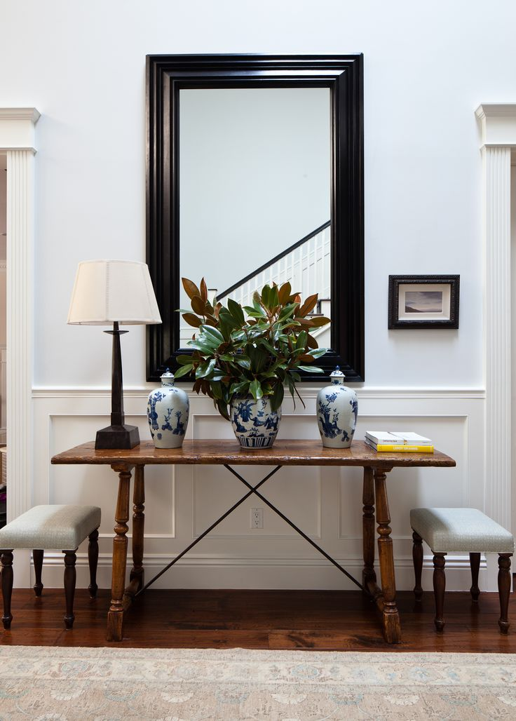 title | Mirrored Foyer Tables