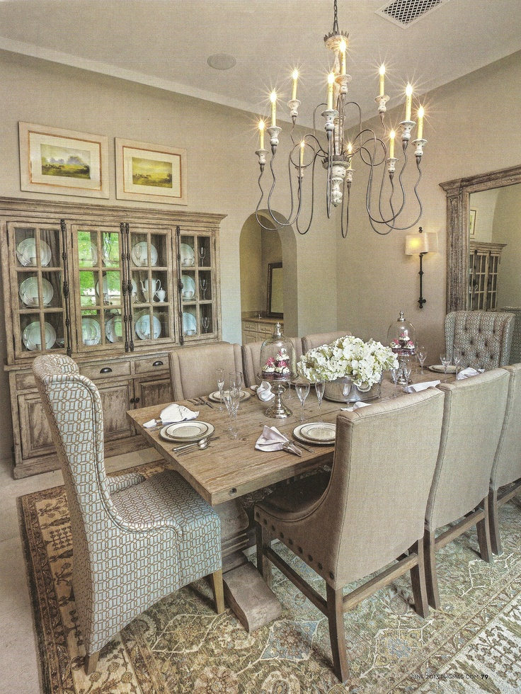 1000 ideas about Neutral Dining Rooms on Pinterest