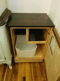 25+ Best Ideas about Litter Box on Pinterest | Cat box ...