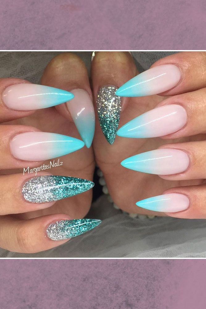 17 Best ideas about Ombre Nail on Pinterest