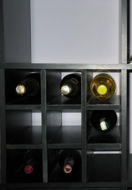 Ikea Hack Built In Wine Rack Ikea Hackers Pinterest