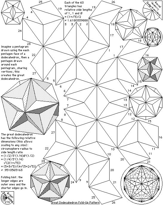 71 best images about Mathematical Paper craft on Pinterest