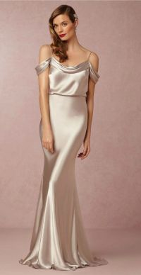 25+ best ideas about Satin Bridesmaid Dresses on Pinterest ...