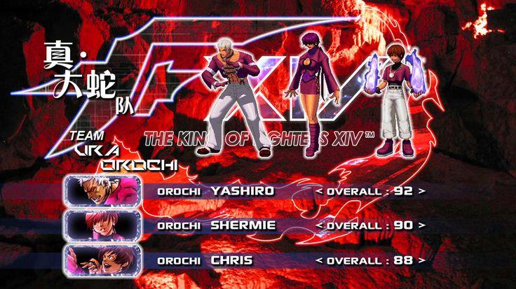 Team Orochi Kof 14 Gaming Pinterest Street Fighter