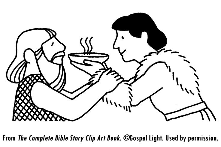 Jakob en Esau geboorterecht vertel, spel en knutsel ideeen