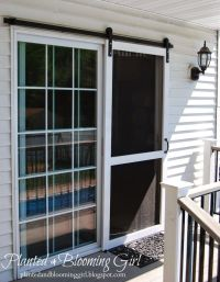 Planted and Blooming Girl : Sliding Screen Door ...