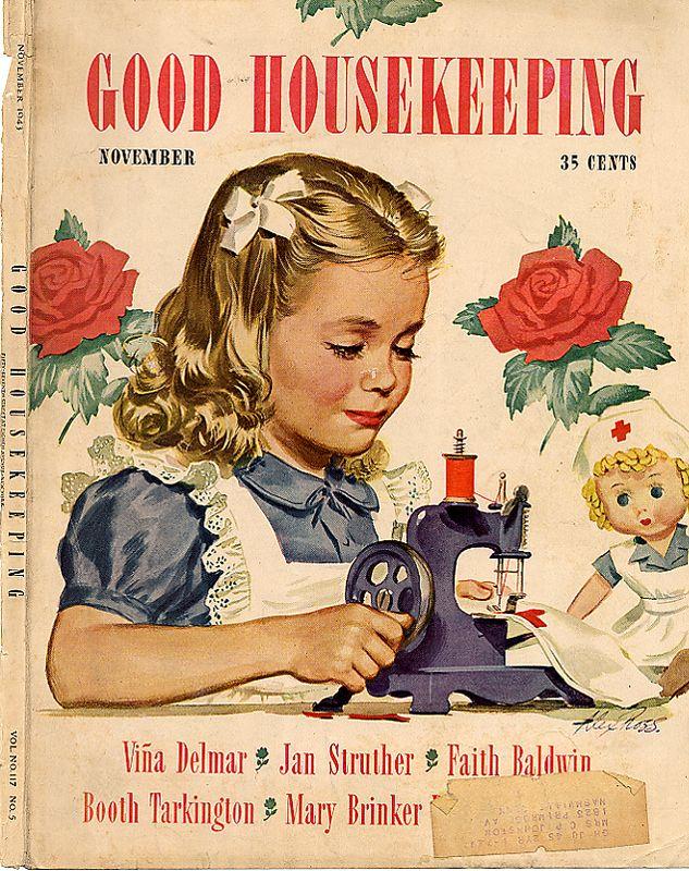 Vintage Good Housekeeping Magazine Good Housekeeping