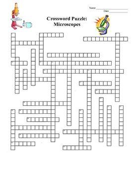 Crossword, Crossword puzzles and Electron microscope on