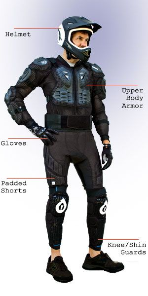 Image Result For Mountain Biking Protective Gear