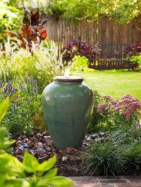easy backyard fountain, backyard inspiration, fountains ...
