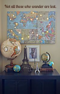 25+ best ideas about World travel decor on Pinterest ...