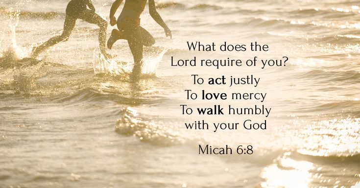 Act Justly Love Mercy Walk Humbly With Your God