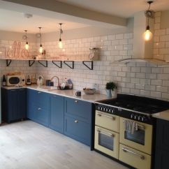 Kitchen Cabinet Pull Handles Orange Cabinets Mdf Shaker Doors Fully Finished With Farrow And Ball Hague ...