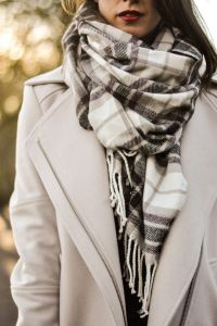 25+ best Winter scarf outfit ideas on Pinterest