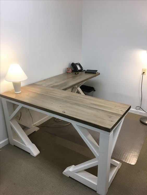 desk chair dublin diy no sew dining room covers best 25+ rustic ideas on pinterest | computer desk, and farmhouse