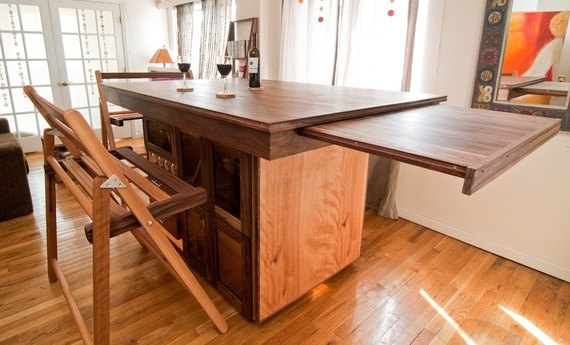 Bar Table With Pull Out Extension Need Something Like