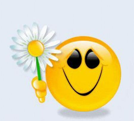 Cute Animated Wallpapers Gif A Flower For You Smiley Faces Pinterest Flower