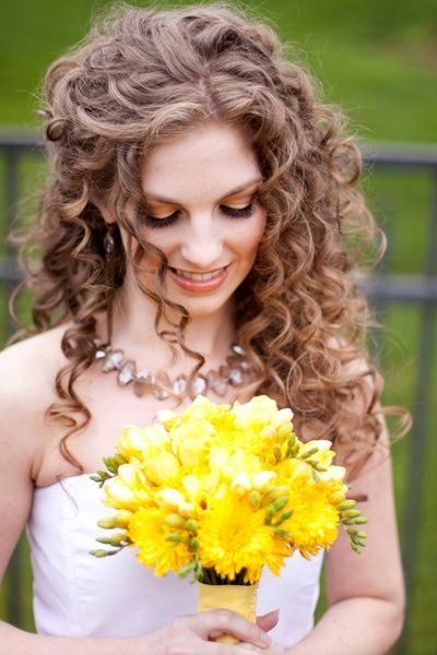 25 Best Ideas About Curly Wedding Hair On Pinterest Curly