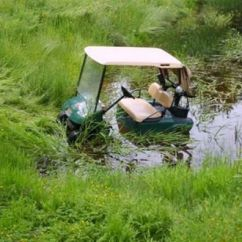 Golf Cart Accidents How To Do A Diagram I Wonder What Happened Here... #golfinggonewrong | Golfing Gone Wrong Pinterest Told You ...