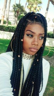 black girl braids ideas
