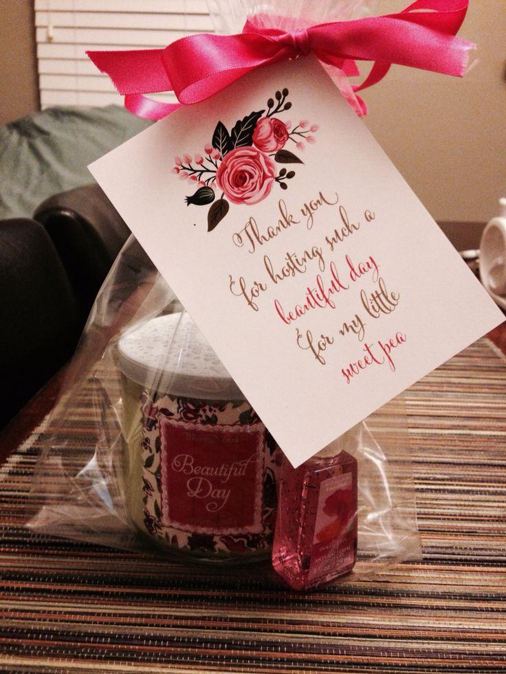 Baby shower hostest gift