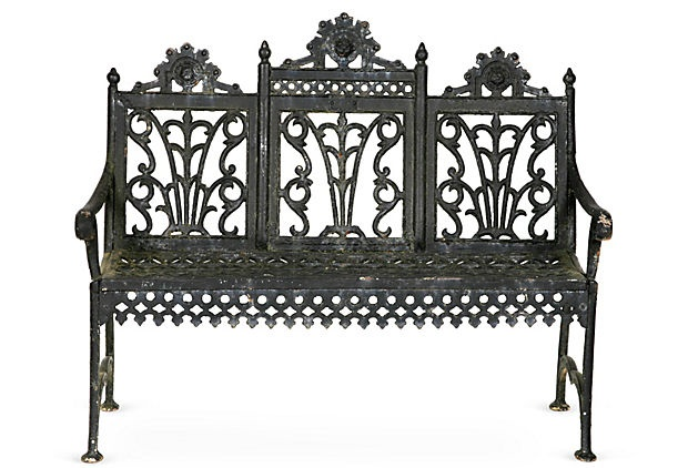 75 best Cast Iron Outdoor Furniture images on Pinterest