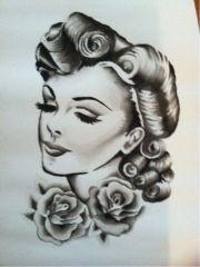 1000 vintage drawing