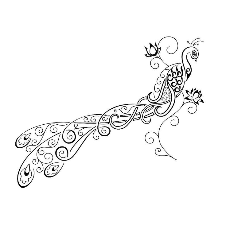 Best 25 Peacock Feather Tattoo Ideas