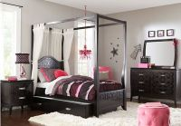 Belle Noir Dark Merlot 6 Pc Full Canopy Bedroom . $1,379 ...