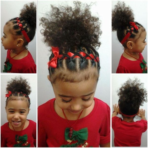 30 Natural African American Ponytail Hairstyles Babies