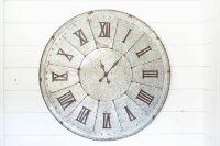 Galvanized Clock   The Magnolia Market   Home Decorating ...