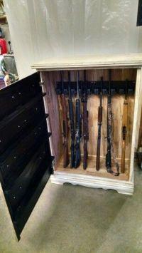 17 Best ideas about Hidden Gun Cabinets on Pinterest ...