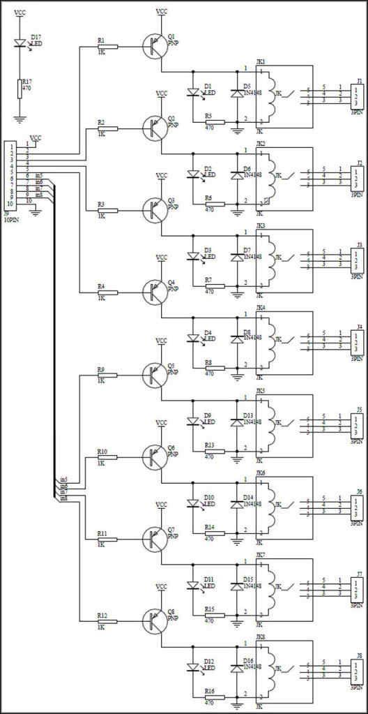arduino 5v relay module wiring
