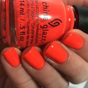 bright red nails ideas