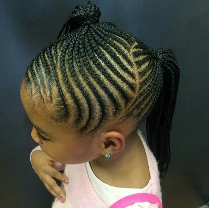 25 Best Ideas About Kids Braided Hairstyles On Pinterest Black